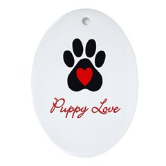 Puppy Love Keepsake (Oval)