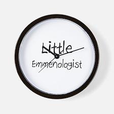Little Emmenologist Wall Clock