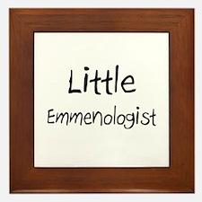 Little Emmenologist Framed Tile