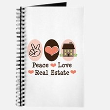 Peace Love Real Estate Agent Journal
