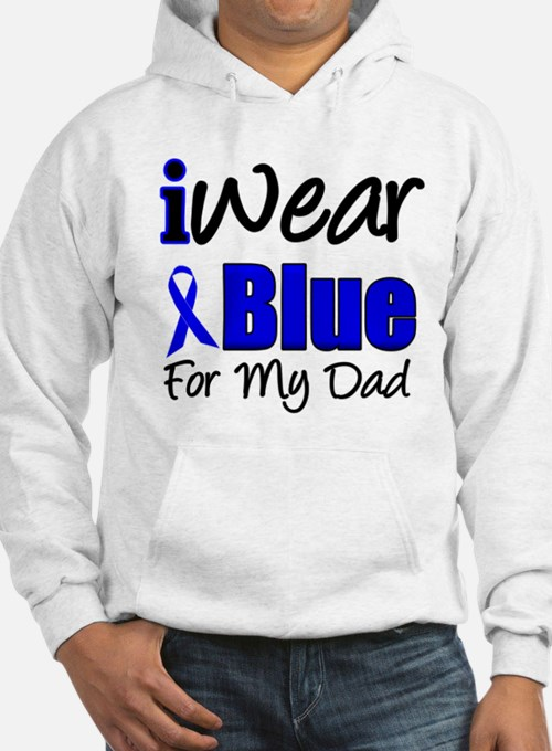 I Wear Blue For My Dad Hoodie