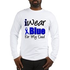 I Wear Blue For My Dad Long Sleeve T-Shirt