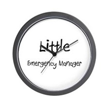 Little Emergency Manager Wall Clock
