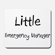 Little Emergency Manager Mousepad