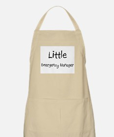 Little Emergency Manager BBQ Apron