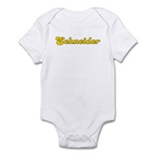 Retro Schneider (Gold) Infant Bodysuit