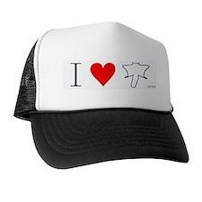 I Heart Flyers Trucker Hat