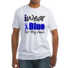 I Wear Blue For My Aunt Shirt