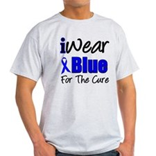 I Wear Blue The Cure T-Shirt