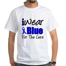 I Wear Blue The Cure Shirt
