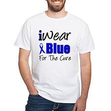 I Wear Blue The Cure Shirt
