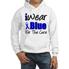 I Wear Blue The Cure Hoodie