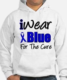 I Wear Blue The Cure Hoodie