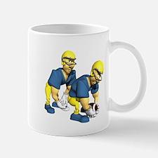 Hiking Football Mug