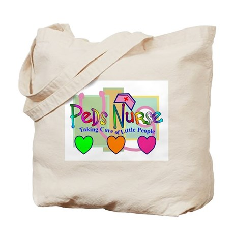 PEDS Nurse Tote Bag