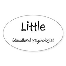 Little Educational Psychologist Oval Decal