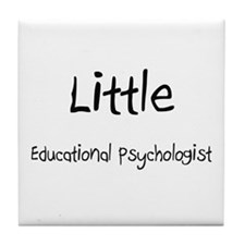 Little Educational Psychologist Tile Coaster