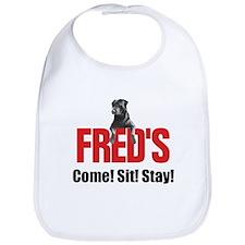 Fred's Merchandise Bib
