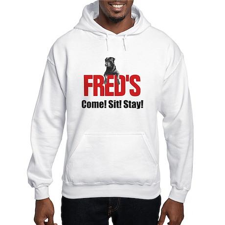 Fred's Merchandise Hooded Sweatshirt