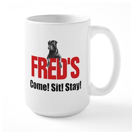 Fred's Merchandise Large Mug