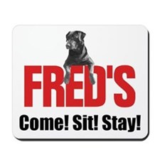 Fred's Merchandise Mousepad