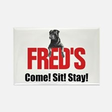 Fred's Merchandise Rectangle Magnet