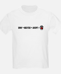 Spay, Neuter, Adopt Kids T-Shirt