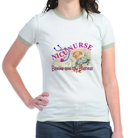PEDS Nurse Jr. Ringer T-Shirt