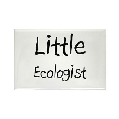Little Ecologist Rectangle Magnet