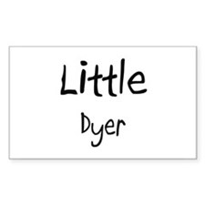Little Dyer Rectangle Decal