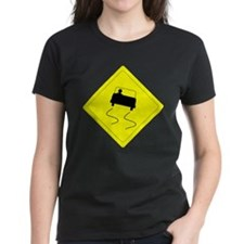 SLIPPERY WHEN WET Tee