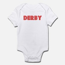 Retro Derby (Red) Infant Bodysuit