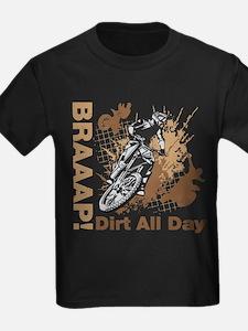 Motocross Dirt Bike T-Shirt