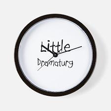 Little Dramaturg Wall Clock