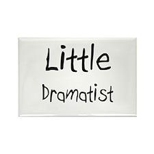 Little Dramatist Rectangle Magnet