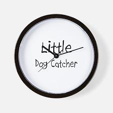 Little Dog Catcher Wall Clock