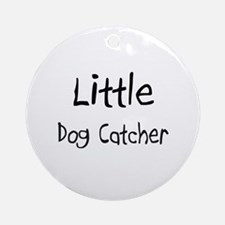Little Dog Catcher Ornament (Round)