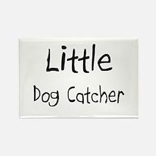 Little Dog Catcher Rectangle Magnet