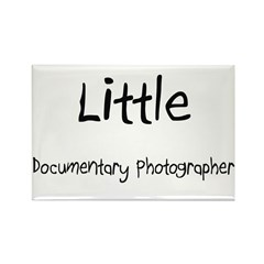 Little Documentary Photographer Rectangle Magnet (
