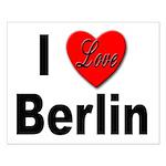 I Love Berlin Small Poster