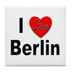 I Love Berlin Tile Coaster