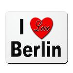 I Love Berlin Mousepad