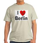I Love Berlin (Front) Ash Grey T-Shirt