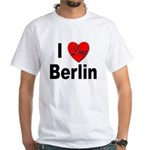 I Love Berlin (Front) White T-Shirt