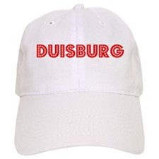 Retro Duisburg (Red) Baseball Cap