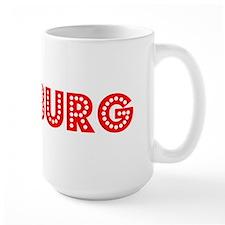 Retro Duisburg (Red) Mug