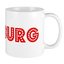 Retro Duisburg (Red) Mug