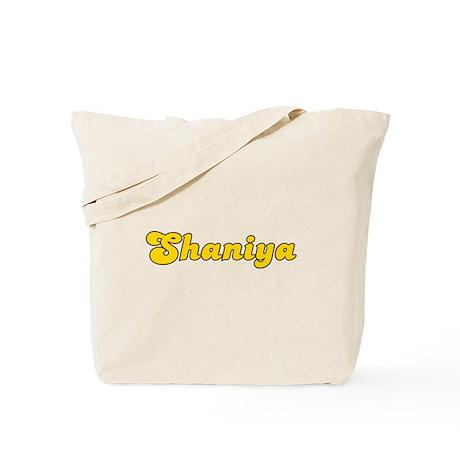 Retro Shaniya (Gold) Tote Bag