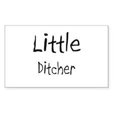 Little Ditcher Rectangle Decal