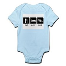 EAT SLEEP BIKE Onesie